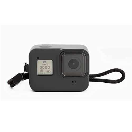LIIFIT siliconenrubber frame beschermhoes voor GoPro Hero 8 Action Camera stootvaste bescherming van de huid