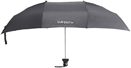 PEARL Doppelregenschirm: Paar-Regenschirm für 2 Personen inklusive Schutzhülle (Paarregenschirm)