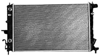 TYC 2605 Saturn L-Series 1-Row Plastic Aluminum Replacement Radiator