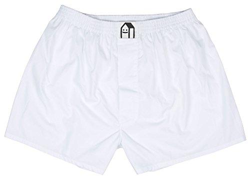 Lousy Livin Underwear Herren Boxershorts Plain White Gr. XL