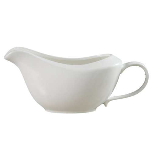 Saucière Ritzenhoff & Breker Melodie, 400 ml, Porcelaine de Qualité Supérieure, Lavable au Lave-Vaisselle, 581980