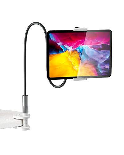BlitzWolf Tablet Halter, Schwanenhals Tablet Ständer iPad Ständerhalter 360 ° Flexible Tablet Halterung für iPad Pro Mini Air, Galaxy Tabs, Nintendo Switch, 4,7'-12,9' Handys und Tablets