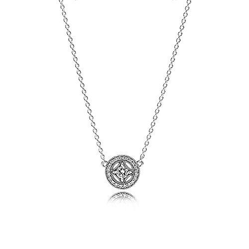 Pandora Damen-Halskette Schmuck Casual Artikelnummer 590523CZ-45