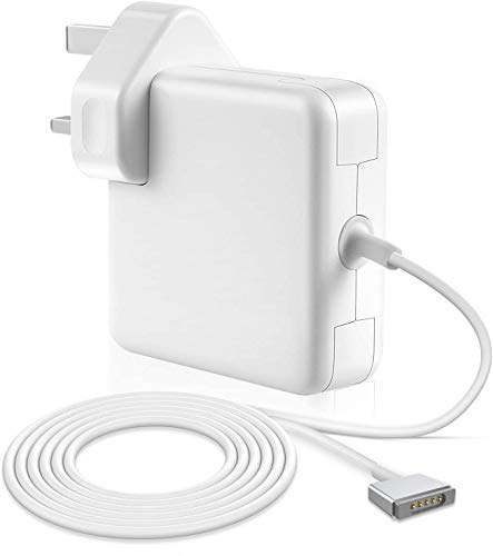 Compatible with Mac Charger 60w Mag 2 Safe Power Adapter Compatible with mac Book Air 13 Retina Display(2012-2015) Replacement Magnetic T Shape.