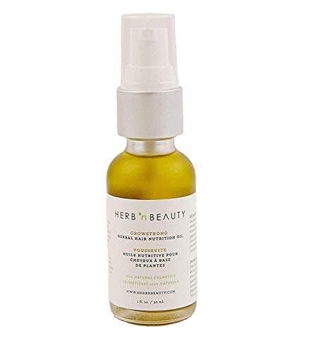 Herb 'N Beauty GROWSTRONG Herbal Hair Growth Nutrition Oil Treatment for men and women