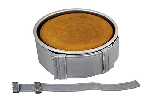 PME Backgürtel für 109 x 5 cm Tiefe runde und eckige Backformen, Stoff, Grau, 16 x 2.5 x 27 cm
