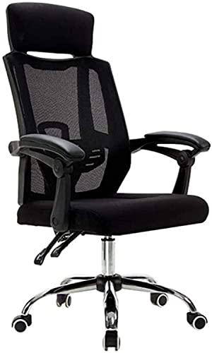 Bürostuhl Schwenkstuhl, Ergonomische Büro Mesh Chair Einstellbare Höhe Computer Schreibtisch Sessel Waffen Home Office Study Gaming Task Nützlich