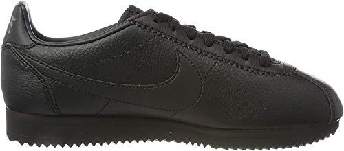 Nike Herren Classic Cortez Leather Gymnastikschuhe, Schwarz (Black/Black-Anthracite), 45.5 EU