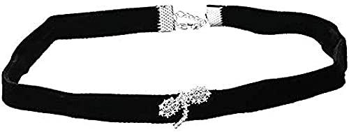 BEISUOSIBYW Co.,Ltd Collar Libélula Collar Gargantilla Negra Mujer Regalo