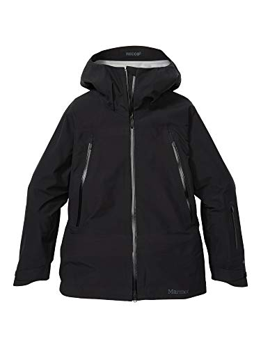 Marmot Wm's Spire Jacket Chaqueta para la Nieve rígida, Ropa de esquí y Snowboard, Resistente al Viento, Resistente al Agua, Transpirable, Mujer, Black, L