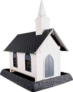 North States Village Collection Grand Style Birdfeeder -Large Church