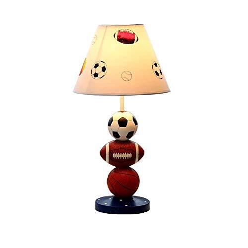 Mutmi LED Lámparas de Mesa para niños, Dibujos Animados de Tela de Resina de Resina iluminación de iluminación de iluminación de iluminación de iluminación de lámpara, Plug-in, Sala de EST.