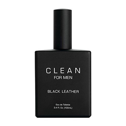 Clean Eau de Toilette pour Homme Black Leather 100 ml