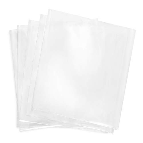 Shrink Wrap Bags,200 Pcs 6x6 Inches Clear PVC Heat Shrink Wrap for Packagaing Soap,Bath Bombs,Candles,Small Gifts, Jars and Homemade DIY Projects