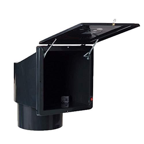 Ventilador de escape de humo de aceite, controlador de ventilador del conducto ventilador ventilador de ventilación para el aumento del humo de la cocina de refuerzo Hogar potente para el ático Casa e