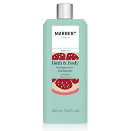 Marbert Bath & Body Pomegranate & Cardamom Duschgel, 1er Pack (1 x 400 ml)