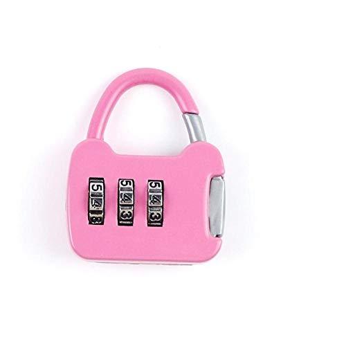 Reizen koffer wachtwoordslot, Gym Locker Lock, Bagage Lock, Office File Cabinet Lock, hoge veiligheid Champagne Powder