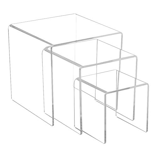 Combination of Life Premium inclinato ergonomico computer acrilico tastiera riser stand piattaforma trasparente