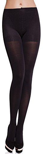 Merry Style Donna Modellare Collant MS 171 100 DEN (Nero, S)