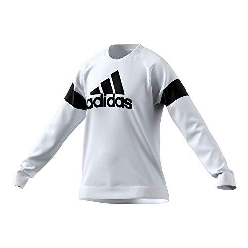 adidas womens Favorites Sweatshirt White Small