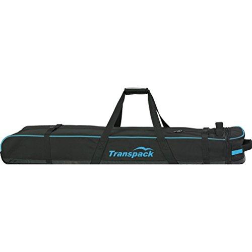 Classic Series Ski Vault Double Pro Bag Color: Black w/ Blue Electric