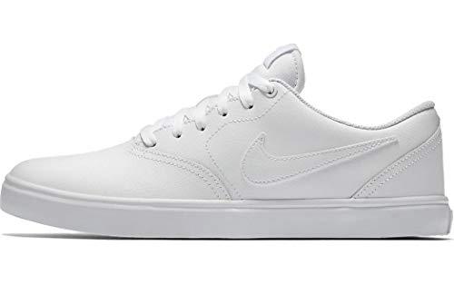 Nike SB Check Solar, Zapatillas de Deporte para Hombre, Blanco (White 102), 45.5 EU