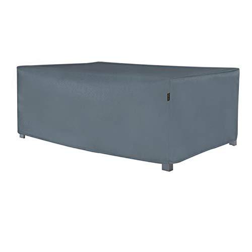 Housse Salon de Jardin Housse de,respirante, frostbeständige asserdichte et résistant UV Housse de protection Bâche pour meubles de jardin, 250L×100W×70H cm Gris