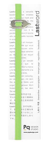 Lastword lesezeichen, bookmark - lesezeichen kinder - geschenk für frauen, geschenk für männer, geschenk für freundin - elastisches Lesezeichen für alle Bücher – DESIGN MADE IN ITALY (Grün)
