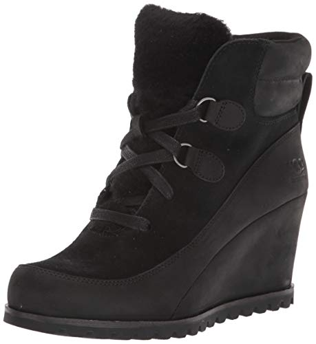 UGG Women's VALORY Ankle Boot, Black, 5.5 M US