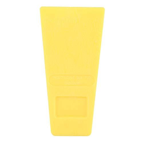 Changor 5En Las cuñas de Motosierra, Aumentan la fricción de plástico Hecho (Amarillo)