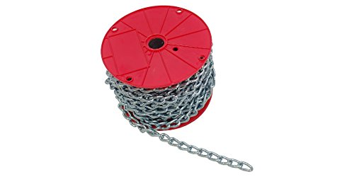 #4X100' Machine Chain Twist Link ElectroGalvanized