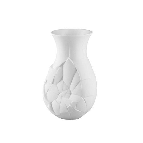 Rosenthal 14255-100102-26021 Vase of Phases - Blumenvase - Weiß - matt - Höhe 21 cm