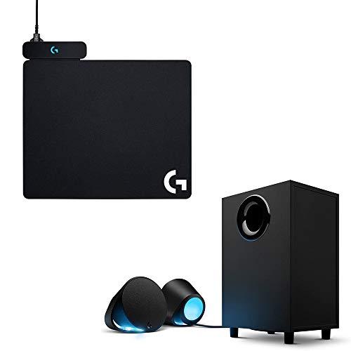 Logicool G Gaming Speaker + Logicool G Gaming Mouse Pad Set [G560+G-PMP-001]