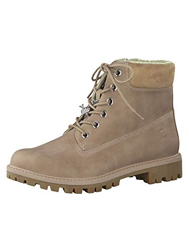 Tamaris Damskie buty 1-1-25283-23 Combat Boots, różowy - rose - 39 eu