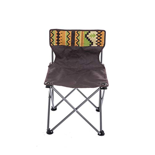 CTO Furniture-Outdoor Fishing Folding Chair with Backrest Home Portable with Storage Bag Waterproof Wearable Stool Folding Chair,A-Chair
