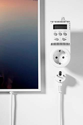 Könighaus Fern Infrarotheizung – Bildheizung in HD Qualität mit TÜV/GS – 200 Bilder – 1000 Watt (1. Steg gerade) Bild 4*