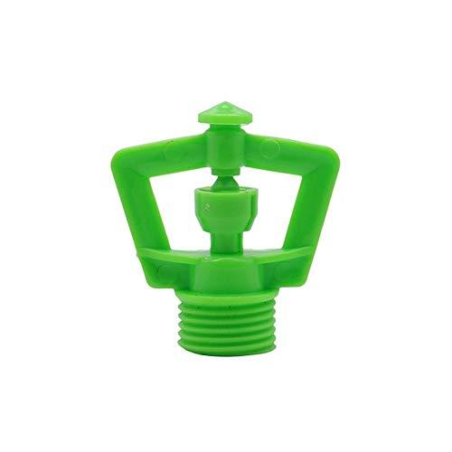 """Dusche im Garten, Pool, Außenbereich, Dusche Grüne Rotierende Micro-Sprinkler mit 1/2\"""" Außengewinde Gewächshausgartenbewässerung Rasen Mist Spray Nozzle Bewässerung 10 Stück (Color : Red)"""