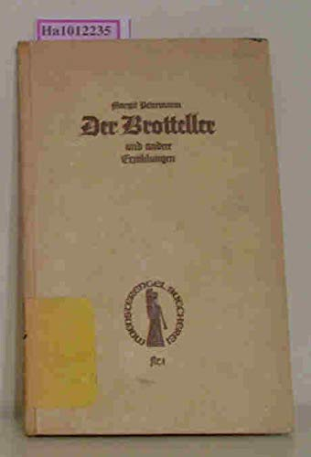 Der Brotteller und andere Erzählungen.