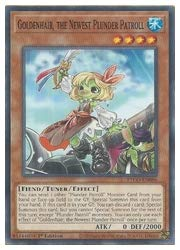 遊戯王 英語版 Goldenhair the Newest Plunder Patroll(N)(1st)