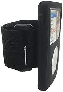 Aiboco Arm Band for iPod Classic Armband Silicone Case for Model A1238 80GB 120GB 160GB (Thin) Model A1136 30GB Black Skin