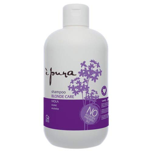 È Pura - Shampoo Blonde Care - Trattamento Antigiallo per Capelli Biondi e con Meches - 500 ml