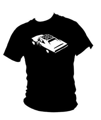 Dodge Charger General Lee- T-shirt pour homme Classic 1969Muscle Car - Noir - Large