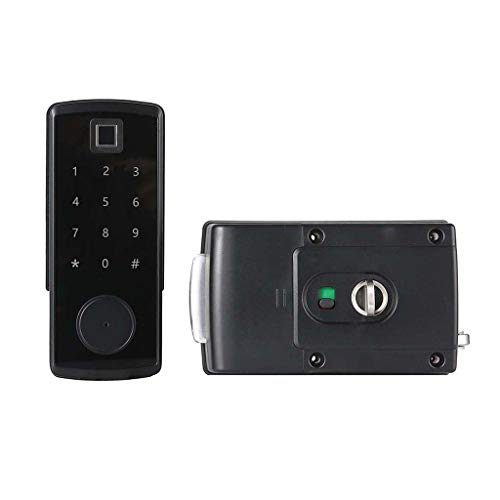 Baoblaze Wifi Elektronisk kryptering Bluetooth-nyckel smart hemsäkerhet dörrlås – fingeravtryck