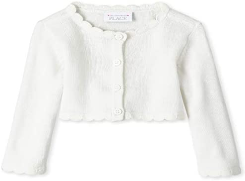 The Children s Place Baby Girls Cardigan Simplywht 0 3MONTHS product image