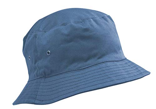 Adventure Togs Fischerhut/Sonnenhut für Kinder-8-11 Jahre, für Jungen & Mädchen, 100% Baumwolle, Gr. 56 cm, himmelblau