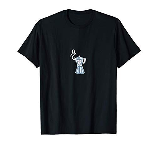 Gebrühter Kaffee Koffein Kaffeebohne Cappuccino Geschenk T-Shirt