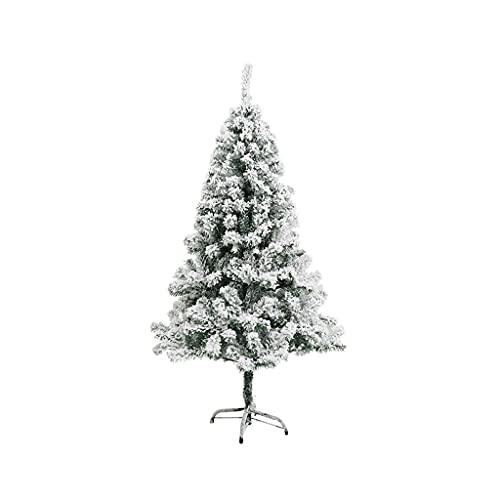 FLOOR Árbol de Navidad artificial, fácil montaje con soporte de metal, para el hogar, oficina, decoración de fiestas, decoración para interiores y exteriores (múltiples