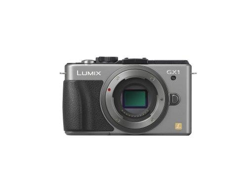パナソニック ミラーレス一眼カメラ ルミックス GX1 ボディ 1600万画素 シルバー DMC-GX1-S