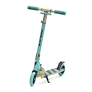 SVOLTA Legend Kick Scooter for Kids – Aqua and Gold