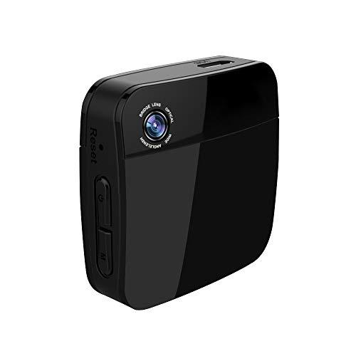 NK Body CAM Live Stream -  Cámara Personal de Transmisión en Directo 720p HD -  2.5 Horas de Batería,  Micro y Altavoz,  WiFi,  LiveAction con la App,  3 Modos de Grabación,  Memoria 64GB,  Negro